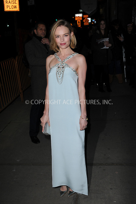 WWW.ACEPIXS.COM<br /> January 13, 2015 New York City<br /> <br /> Kate Bosworth attending a screening of Sony Pictures Classics' 'Still Alice' at Landmark's Sunshine Cinema on January 13, 2015 in New York City.<br /> <br /> Please byline: Kristin Callahan/AcePictures<br /> <br /> ACEPIXS.COM<br /> <br /> Tel: (212) 243 8787 or (646) 769 0430<br /> e-mail: info@acepixs.com<br /> web: http://www.acepixs.com