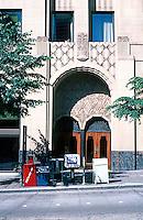 Seattle: Exchange Building--Entrance. Tallest downtown structure until 1960. F.W. Grant; John Graham Sr. 1930.