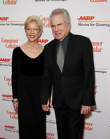 BEVERLY HILLS, CALIFORNIA - JANUARY 11: Annette Bening, Warren Beatty attend AARP The Magazine's 19th Annual Movies For Grownups Awards at Beverly Wilshire, A Four Seasons Hotel on January 11, 2020 in Beverly Hills, California.   <br /> CAP/MPI/IS<br /> ©IS/MPI/Capital Pictures