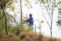 Pablo Larrazabal (ESP) in action on the 10th during Round 3 of the Hero Indian Open at the DLF Golf and Country Club on Saturday 10th March 2018.<br /> Picture:  Thos Caffrey / www.golffile.ie<br /> <br /> All photo usage must carry mandatory copyright credit (&copy; Golffile | Thos Caffrey)