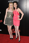 Dakota Fanning & Kristen Stewart  at APPARITION'S L.A. Premiere of The Runaways held at The Arclight Cinerama Dome in Hollywood, California on March 11,2010                                                                   Copyright 2010 DVS / RockinExposures..