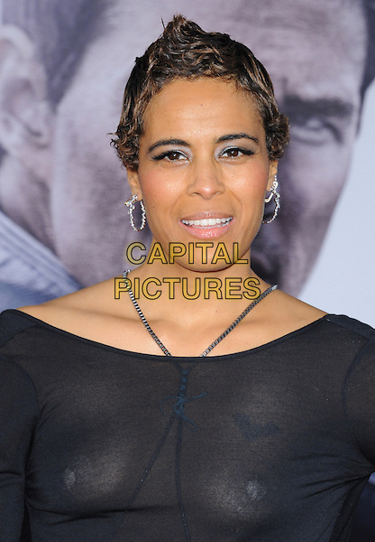 """Daphne Wayans.""""Oblivion"""" Los Angeles Premiere held at the Dolby Theatre, Hollywood, California, USA..April 10th, 2013                                                                    .headshot portrait black top see through thru nipples tape  .CAP/DVS.©DVS/Capital Pictures."""
