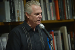 """CORAL GABLES, FL - APRIL 16: Steve Moss introduce Author Liam Callanan Promotes and sign copies of his new book """"Paris by the Book"""" at Books & Books on April 16, 2019 in Coral Gables, Florida. ( Photo by Johnny Louis / jlnphotography.com )"""