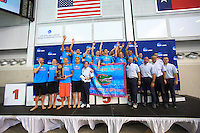 The University of Florida men's swimming and diving team compete on the final day of the 2014 NCAA Men's Swimming and Diving Championships hosted by the University of Texas, Austin, TX. March 27-29, 2014