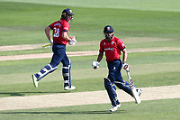 Ravi Bopara (R) and Daniel Lawrence add to the Essex total during Essex Eagles vs Kent Spitfires, Royal London One-Day Cup Cricket at The Cloudfm County Ground on 6th June 2018