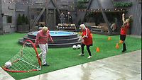 Ann Widdecombe, Wayne Sleep, Jess Impiazzi<br /> Celebrity Big Brother 2018 - Day 30<br /> *Editorial Use Only*<br /> CAP/KFS<br /> Image supplied by Capital Pictures