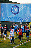 Allenamento del Napoli nel centro sportivo di CastelVolturno