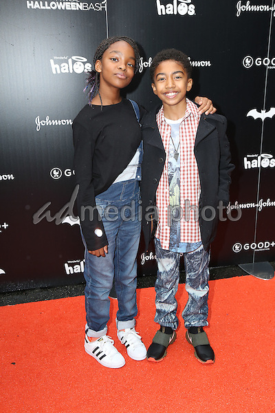 30 October 2016 - Hollywood, California - Marsai Martin, Miles Brown. GOOD+ Foundation 1st Annual Halloween Bash held at Sunset Gower Studios. Photo Credit: PMA/AdMedia