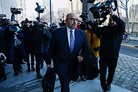 NEW YORK, NY - FEBRUARY 04: Attorney for Joaquin 'El Chapo' Guzman, Eduardo Balarezo, arrives at the US Federal Courthouse February 4, 2019 in Brooklyn, New York. (Photo by Kena Betancur/VIEWpress)