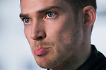 Edoardo Mortara of Switzerland from Venturi Formula E Team attends the press conference after the FIA Formula E Hong Kong E-Prix Round 2 at the Central Harbourfront Circuit on 03 December 2017 in Hong Kong, Hong Kong. Photo by Victor Fraile / Power Sport Images