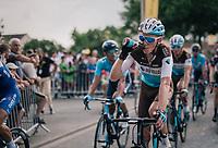 Romain Bardet (FRA/AG2R-La Mondiale) rolling in<br /> <br /> Stage 7: Fougères > Chartres (231km)<br /> <br /> 105th Tour de France 2018<br /> ©kramon