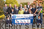 Education Minister, Ruairi Quinn, was on hand to offically launch a fund-raising cycle in aid of Coolick National School last Friday. <br />