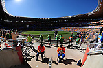 Soccer city stadium during the 2010 World Cup Soccer match between Argentina vs Korea Republic played at Soccer City in Johannesburg, South Africa on 17 June 2010.  Photo: Gerhard Steenkamp/Cleva Media