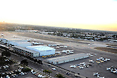 Editorial photo of John Wayne Airport at Santa Ana California