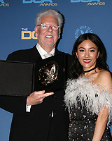 LOS ANGELES - FEB 2:  Louis J Horvitz, Constance Wu at the 2019 Directors Guild of America Awards at the Dolby Ballroom on February 2, 2019 in Los Angeles, CA