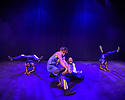 Underbelly Press Launch at the Edinburgh Festival Fringe. Underbelly presents a showcase of a number of productions and acts to launch their Fringe 2018, in the upturned purple cow, George Square, Edinburgh. Picture shows: UniverSoul - Breaking Bones.