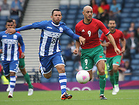 Men's Olympic Football match Honduras v Morocco on 26.7.12...During the Honduras v Morocco Men's Olympic Football match at Hampden Park, Glasgow..................Men's Olympic Football match Honduras v Morocco on 26.7.12...of , during the Honduras v Morocco Men's Olympic Football match at Hampden Park, Glasgow...Picture John Millar / ProLens PhotoAgency / PLPA.Thursday 26th July 2012......