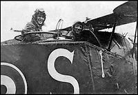 BNPS.co.uk (01202 558833)<br /> Pic: CrownCopyright/AirHistoricalBranch<br /> <br /> Edward, Prince of Wales in the rear cockpit of a Bristol F.2B Fighter in Italy in 1918.<br /> <br /> A new book gives an intimate look behind the scenes of the Royal Flight and also the flying Royals.<br /> <br /> Starting in 1917 the book charts in pictures the 100 year evolution of first the King's Flight and then later the Queen's Flight as well as the Royal families passion for aviation.<br /> <br /> Author Keith Wilson has had unprecedented access to the Queen's Flight Archives to provide a fascinating insight into both Royal and aeronautical history.