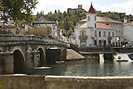 Bridge and River in Tomar, Portugal