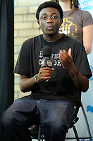 Michel Chikwanine at Free The Children's Me To We Day in Toronto, Canada