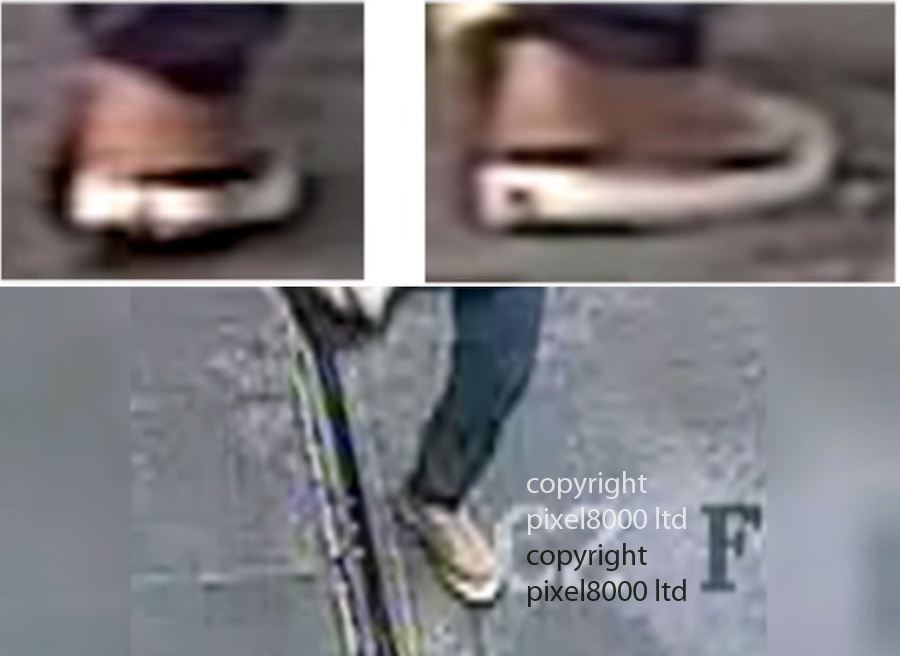 Pic shows: New cctv shows details of the brown shoes he was wearing<br /> <br /> <br /> Belgian police issue new CCTV  in the hunt for the man variously known as &quot;the man in white&quot; or &quot;the man in the hat&quot;<br /> He was seen alongside Ibrahim El-Bakraoui and Najim Laachraoui shortly before they detonated suicide bombs in the departure hall, killing 14 people.<br /> <br /> <br /> <br /> <br /> Pic by Pixel 8000 Ltd