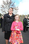 Amy White and Sponsor Yvonne O'Brien.Slane Confirmation..Picture: Fran Caffrey / www.newsfile.ie ..