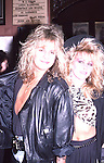 Vince Neil & Wife Sharise Neil in Hollywood . March 1986