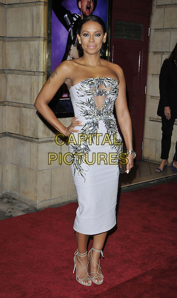 LONDON, ENGLAND - OCTOBER 23: Melanie Brown ( Mel B ) attends the &quot;Memphis&quot; press night performance, Shaftesbury Theatre, Shaftesbury Avenue, on Thursday October 23, 2014 in London, England, UK. <br /> CAP/CAN<br /> &copy;Can Nguyen/Capital Pictures