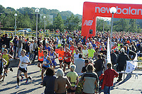 SPORT: JOURE: Jouster Merke Loop, start 10 en 15 km loop, Gerrit Kramer winnaar 10 km (#537)  ©foto Martin de Jong