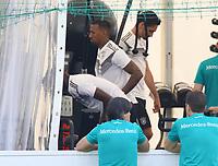 Jerome Boateng (Deutschland Germany) im Fitnesszelt - 26.05.2018: Training der Deutschen Nationalmannschaft zur WM-Vorbereitung in der Sportzone Rungg in Eppan/Südtirol