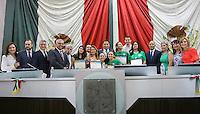 Session Congreso del Estado de Sonora.<br /> Al inicio de la sesión ordinaria, el presidente de la mesa directiva, Jorge Luis Márquez Cázares, hizo entrega de reconocimientos a deportistas sonorenses que participaron en los juegos olímpicos de Río de Janeiro, Brasil.<br /> ©  Foto: AFCES61Legislatura-JG/JN/JI /CONGRESON/NORTEPHOTO