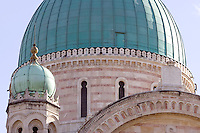 Un dettaglio dell'esterno della Sinagoga di Firenze.<br /> An exterior detail of the Synagogue of Florence.<br /> UPDATE IMAGES PRESS/Riccardo De Luca