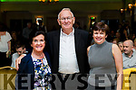 Ina and Johnny O'Shea and Rosari Horgan at the John Mitchels GAA 'Strictly Come Dancing' at Ballygarry House Hotel on Sunday night.
