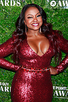 NEW YORK, NY - DECEMBER 4: Phaedra Parks  at the Inaugural TPG Awards Ceremony at the Intrepid Sea-Air-Space Museum on December 4, 2018 in New York City. <br /> CAP/MPI99<br /> &copy;MPI99/Capital Pictures