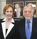 Carol Burnett and Hal Prince attends the Broadway Opening Night performance of 'The Prince of Broadway' at the Samuel J. Friedman Theatre on August 24, 2017 in New York City.