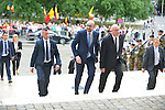 First Minister Charles Michel coming on the Te Deum mass, on the occasion of today's Belgian National Day, at the Saint Michael and St Gudula Cathedral <br /> Brussels, 21 July 2015, Belgium