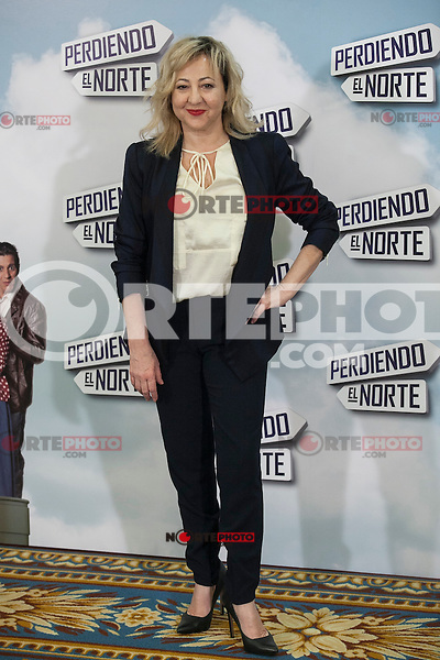 Actress Carmen Machi poses during `Perdiendo el Norte´ film presentation photocall in Madrid, Spain. March 03, 2015. (ALTERPHOTOS/Victor Blanco) /NORTEphoto.com