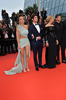 """CANNES, FRANCE. May 24, 2019: Adele Exarchopoulos, Niels Schneider, Virginie Efira & Gaspard Ulliel at the gala premiere for """"Sybil"""" at the Festival de Cannes.<br /> Picture: Paul Smith / Featureflash"""