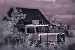 Ghost Truck, Escalante, Utah (Infrared)