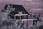 Ghost Truck, Escalante, Utah (Infrared)