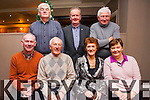 The Kerry Branch of the Retired Nurses Association having their Christmas party at the Killarney Court Hotel on Thursday last. <br /> Front L-R John Rice, Tadgh O'Reilly, Nora Moynihan and Ann Kearney. <br /> Back L-R Ned Brosnan, Neil O'Sullivan and John Kelly.