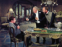 Gigi (1958) <br /> Louis Jourdan, Maurice Chevalier &amp; John Abbott<br /> *Filmstill - Editorial Use Only*<br /> CAP/MFS<br /> Image supplied by Capital Pictures