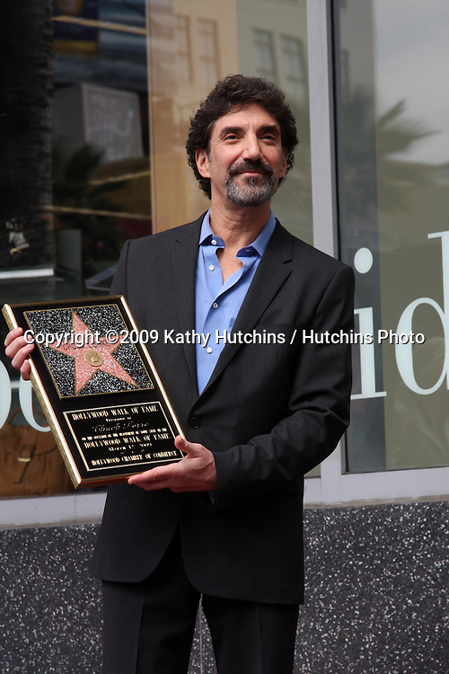 Chuck Lorre at the Hollywood Walk of Fame Ceremony for Chuck Lorre (TV Writer & Producer)  in Los Angeles , CA on  March 12, 2009 .©2009 Kathy Hutchins / Hutchins Photo...                .