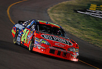 Apr 22, 2006; Phoenix, AZ, USA; Nascar Nextel Cup driver Jeff Gordon of the (24) DuPont Chevrolet Monte Carlo during the Subway Fresh 500 at Phoenix International Raceway. Mandatory Credit: Mark J. Rebilas-US PRESSWIRE Copyright © 2006 Mark J. Rebilas..