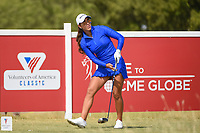 Maria Fassi (MEX) watches her tee shot on 10 during the round 2 of the Volunteers of America Texas Classic, the Old American Golf Club, The Colony, Texas, USA. 10/4/2019.<br /> Picture: Golffile | Ken Murray<br /> <br /> <br /> All photo usage must carry mandatory copyright credit (© Golffile | Ken Murray)