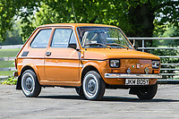 BNPS.co.uk (01202 558833)<br /> Pic: SilverstoneAuctions/BNPS<br /> <br /> 1983 Polski Fiat 126P<br /> <br /> A quirky collection of rare and unusual cars is set to go under the hammer for more than £300,000.<br /> <br /> The group of 16 classic motors range from hand-built replica racing cars to barely used family saloons.<br /> <br /> They are currently owned by an esteemed British collector but have now been consigned to sale with Silverstone Auctions of Ashorne, Warwicks.