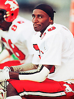 "Demetrius ""pee wee"" Smith Calgary Stampeders 1991 Photo Scott Grant"