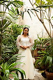 PHILIPPINES, Manila, portrait of Ana Ma-An, a bride before her wedding in the Intramros District