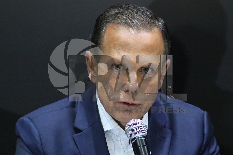 SÃO PAULO, SP, 08.02.2019: POLÍTICA-SP: João Doria, Governador de São Paulo, anuncia medidas para a área de Segurança Pública, nesta sexta-feira, 8. ( Foto: Charles Sholl/Brazil Photo Press/Folhapress)