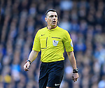 Referee Neil Swarbrick in action during the Premier League match at White Hart Lane Stadium.  Photo credit should read: David Klein/Sportimage
